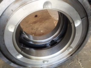 Alternator Bearing After Rebabbitting